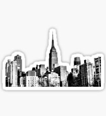 Empire State Building from the West | NYC Icons Sticker