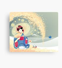 Turning Japanese Canvas Print