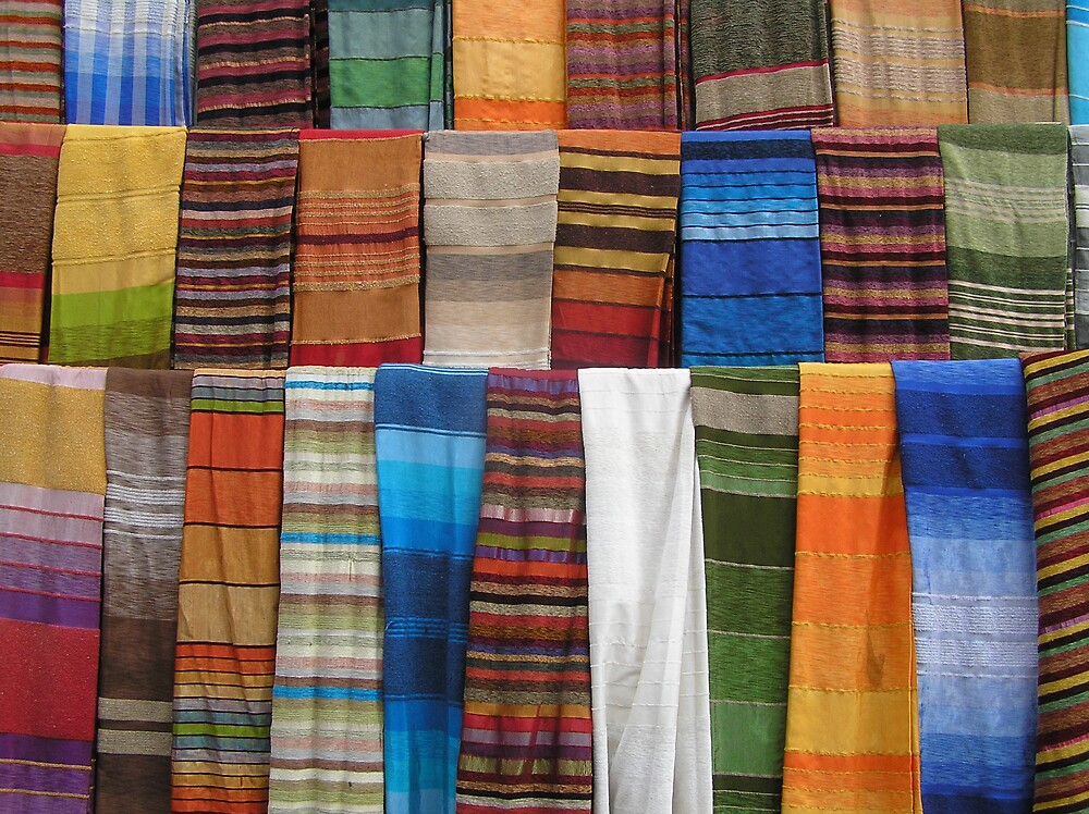 Quot Moroccan Hand Woven Fabric Quot By Heatherf Redbubble