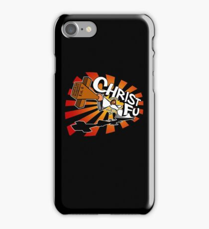 Christ Fu - Love Thy Unconscious Enemy iPhone Case/Skin