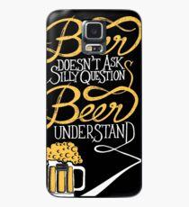 Funda/vinilo para Samsung Galaxy Buena cerveza con buenos amigos!