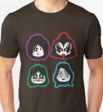 Kiss faces (band) Unisex T-Shirt