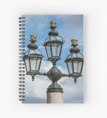 Light Detail from Greenwich Naval College Spiral Notebook