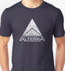 ALTERRA white logo Unisex T-Shirt