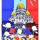 Paris - Sacré-Cœur by iamsla