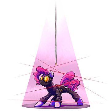 Pink Spy (White) by Jadekettu