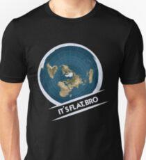 Flat Earth - Flat Earther - Earth Poster - Earth Shirt - Flat Earth Society - Earth Day - Planet Earth - Earth Day Tshirt - Earth Decal Unisex T-Shirt