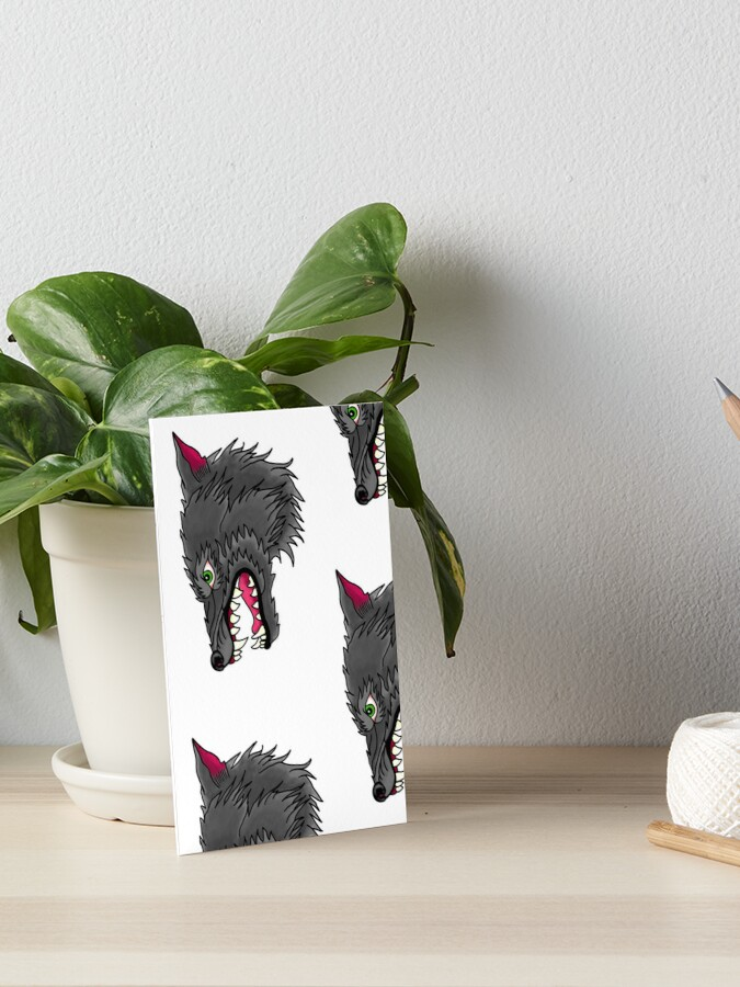 83868561cd204 Neo traditional wolf head