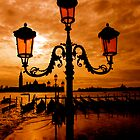 VENICE ON FIRE by Scott  d'Almeida