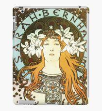Vintage art nouveau Alfons Mucha Sarah Bernhardt iPad Case/Skin