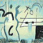 Blue Sketch by Albert