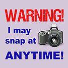 Warning! I may snap at Anytime! by FrankieCat