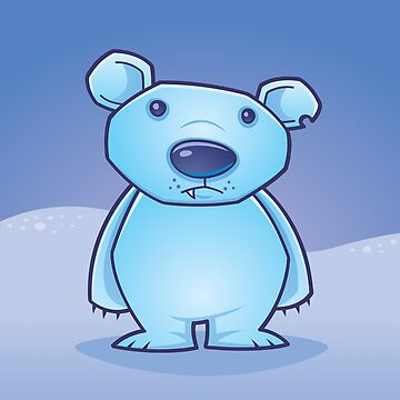 Polar Bear Cub by fizzgig