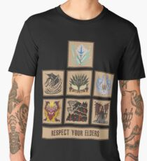 Monster Hunter World Elder Dragons Men's Premium T-Shirt