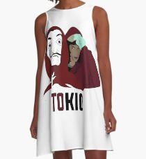 LA CASA DE PAPEL Tokio tee shirt A-Line Dress