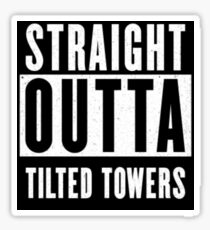 Fortnite - Straight Outta Tilted Towers Sticker
