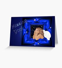 missing you Greeting Card