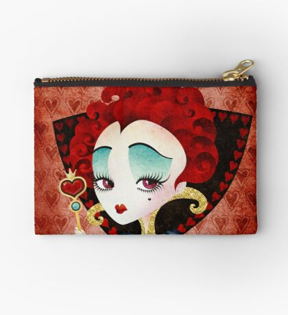 Queen of Hearts Zipper Pouch