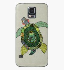 Green Tortoise Case/Skin for Samsung Galaxy