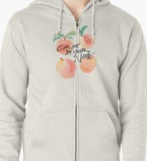 Call Me By Your Name - Peaches Zipped Hoodie
