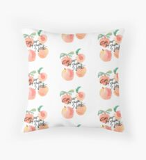 Call Me By Your Name - Peaches Floor Pillow