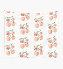 Call Me By Your Name - Peaches Wall Tapestry