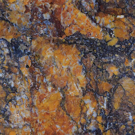 Neutral Black Rust Color Marble Granite Rock Stone Photographic
