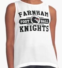 2018 Farnham Knights Logo Design Contrast Tank