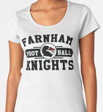 2018 Farnham Knights Logo Design Women's Premium T-Shirt