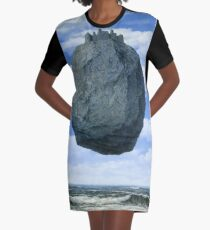 The Castle of the Pyrenees( Le Chateau de Pyrenees)-Rene Magritte Graphic T-Shirt Dress