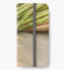 Fresh Asparagus iPhone Wallet/Case/Skin