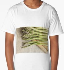 Fresh Asparagus Long T-Shirt