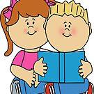 children books day t shirt by malda16