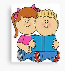 children books day t shirt Canvas Print