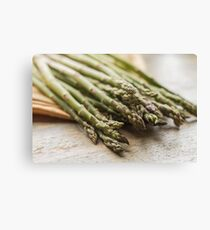 Fresh Asparagus Canvas Print