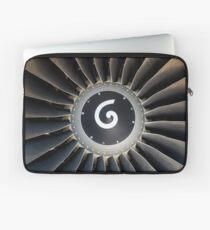 Jet engine detail. Laptop Sleeve