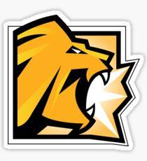 Rainbow Six Siege: Lion Icon Sticker