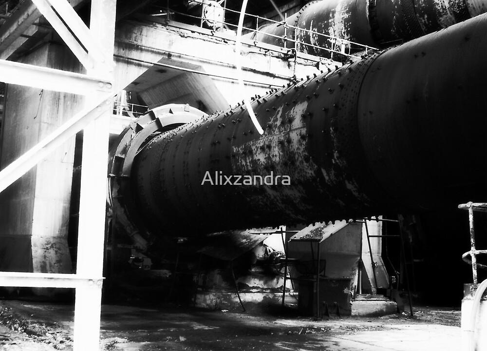 Cylinder Drive Shafts by Alixzandra