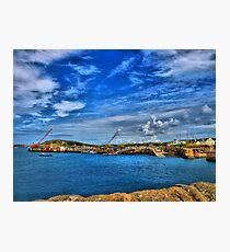 Braye Harbour, Alderney Photographic Print