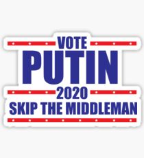 Vote Putin Sticker