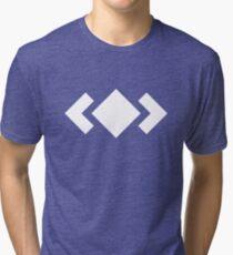 Madeon Adventure Logo - White Tri-blend T-Shirt