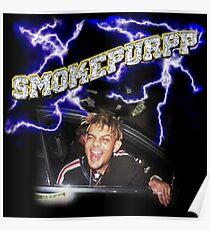 Smokepurpp Lightning Rockstar VVS diamonds Poster