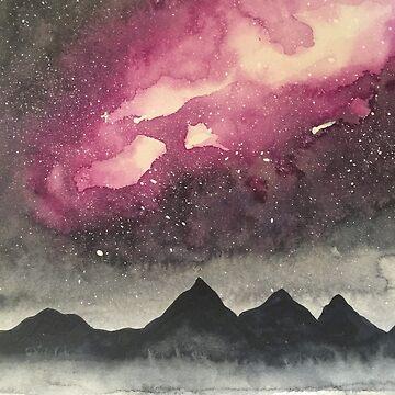 Mountain Galaxy by Tarasadventure