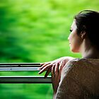 GIRL ON THE TRAIN by Zvonko Jerkovic