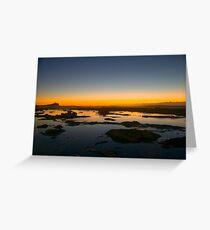 Sunrise in Newcastle Greeting Card