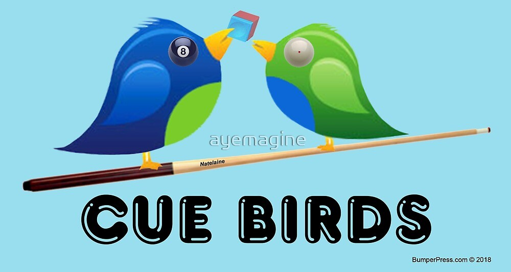 CUE BIRDS by ayemagine