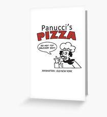 Futurama's Panucci's Pizza - Fry's First Job Greeting Card