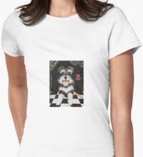 Sir Schnauzer Women's Fitted T-Shirt