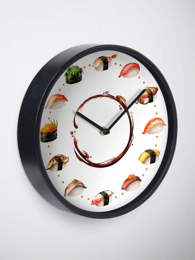 Alternate view of Nigiri, Please - The Sushi Menu You Can Wear! Clock