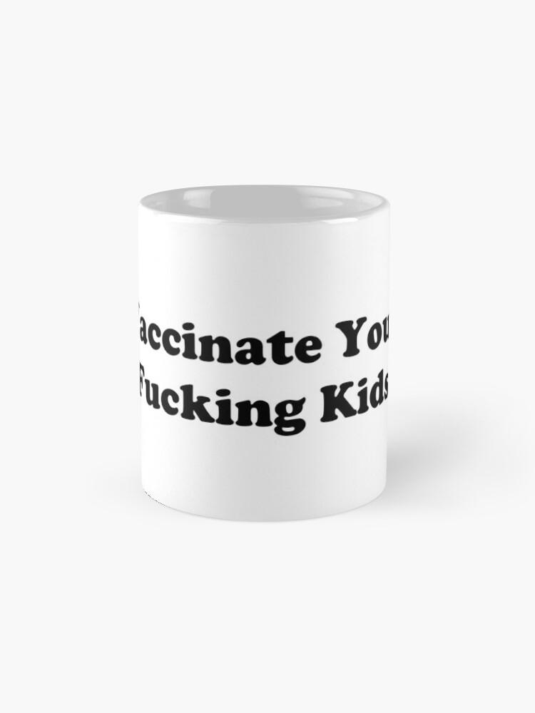 Alternative Ansicht von Impfen Tasse